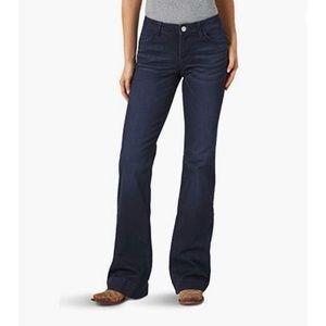 Wrangler Retro Mae Mid Rise Wide Leg Jean 19/20X34